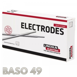 Elektrody BASO 49 Ø 4.0 x 450mm 5,7kg Lincoln Electric
