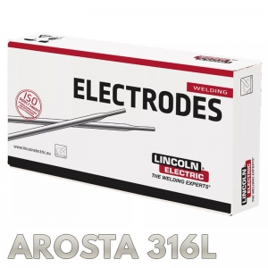 Elektrody AROSTA 316L Ø 1.5 x 250mm 0,7kg Lincoln Electric