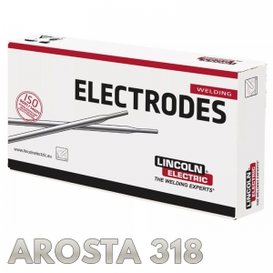 Elektrody AROSTA 318 Ø 4.0 x 350mm 4,8kg Lincoln Electric